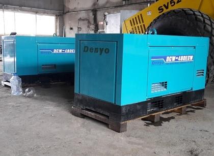 Двухпостовой сварочный агрегат Denyo DCW-480ESW