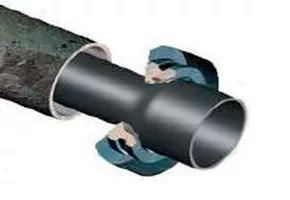 Протяжка трубы равного/большего диаметра
