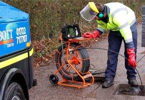 Телеинспекция трубопроводов канализации